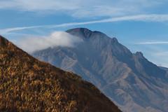 Aso 001 (Adolf Scirooco Kevin Zabi Murasame Muller Chung) Tags: autumn mountain nature japan sunny bluesky  aso  kyushu