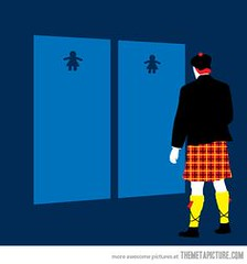 Scottish bathrooms (fannie.bowater) Tags: signs funny message quotes sayings