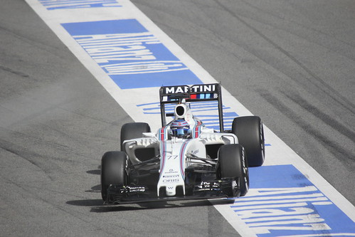 Valtteri Bottas in Formula One Winter Testing 2016