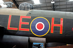The Lincolnshire Aviation Heritage Centre,  East Kirkby  -  Avro Lancaster Bomber (kestrel49) Tags: uk england museum europe aviation aeroplane lincolnshire gb lancaster ww2 16 bomber leh avro worldwartwo 2016 avrolancaster eastkirkby bombercommand thelincolnshireaviationheritagecentre