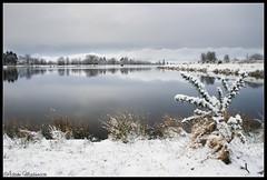 Helensburgh Reservoir (AdMaths) Tags: winter snow water canon scotland canon300d scottish reservoir canoneos300d helensburgh scottishlandscape argyllbute helensburghscotland helensburghreservoir adammatheson helensburghphotographer helensburghphotography adammathesonphotography