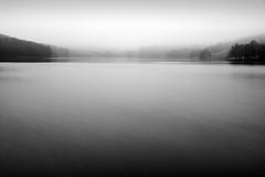Errwood Reservoir (l4ts) Tags: longexposure mist rain landscape blackwhite derbyshire peakdistrict darkpeak goytvalley errwoodreservoir britnatparks 10stopfilter