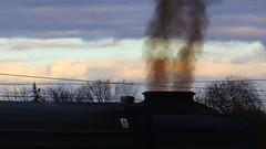 Flying Scotsman 60103. Steam. Feb 2016 (SimonHX100v) Tags: york uk england train steam locomotive nrm nationalrailwaymuseum steamtrain flyingscotsman gwr yorkstation lner theflyingscotsman 60103 nationalrailwaymuseumyork inauguralrun sonyhx100v