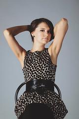 Nastya (roman joe) Tags: light portrait fashion female studio model dress retouch position