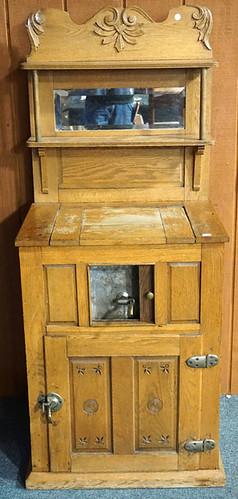 Oak Icebox w/ Mirror $440.00