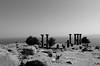 Temple of Athena (umutaksoy76) Tags: travel bw landscape temple column athena turkish assos ancientmonument çanakkale behramkale ayvacık