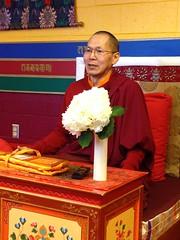 Lama Tobden gave a day workshop on Qi Gong