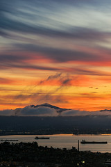 Sunrise at Mt. Davidson (alittlegordie) Tags: sf sanfrancisco nature clouds sunrise landscape sony burn mtdavidson