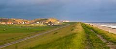 storm  ahead (Jan Herremans) Tags: sea clouds landscape nederland dyke alkmaar 2010 woophy janherremans