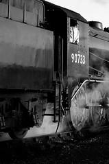 SVR 36291bw (kgvuk) Tags: trains railwaystation locomotive railways steamtrain 280 svr steamlocomotive severnvalleyrailway kidderminster 90733 dubdee kidderminstertownrailwaystation austerity280