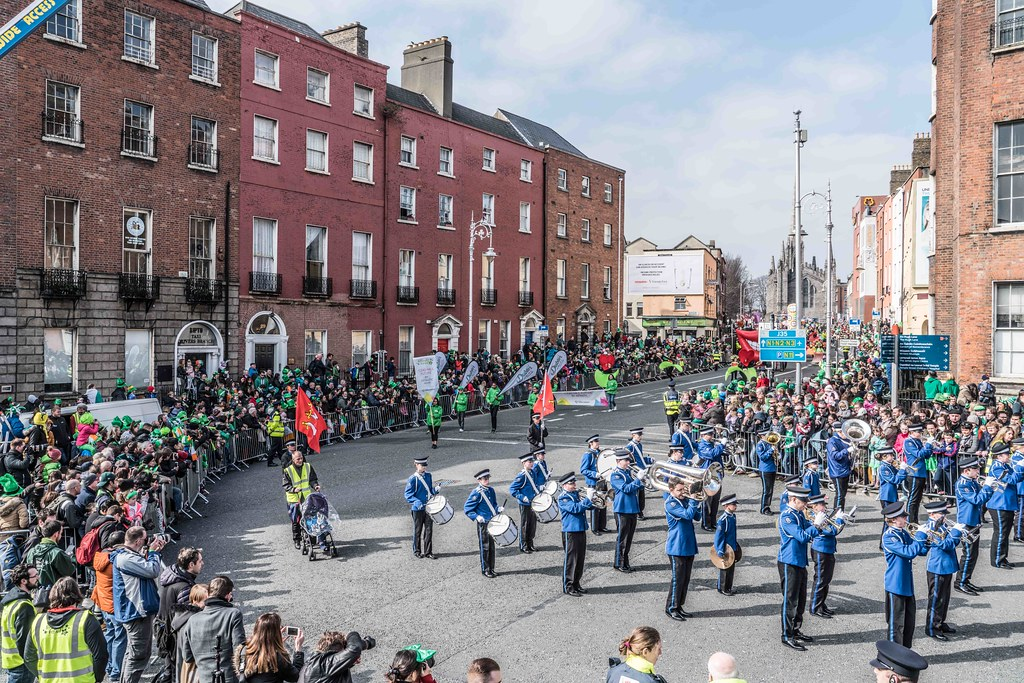 ESSEX MARCHING CORPS FROM THE UK [ST. PATRICK'S PARADE DUBLIN 2016]-112623