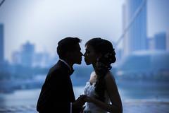 The moment (kg2km) Tags: wedding sunset singapore p2p marinabay abigfave marinasands vividstriking