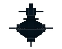 SSXDragonfishMOD1-004 (Dragonov Brick Works) Tags: lego submarine snot ldraw microscale studless