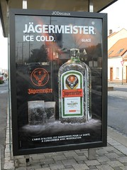 Pub Jgermeister Ice Cold (xavnco2) Tags: advertising billboard werbung abribus publicit jgermeister affiche