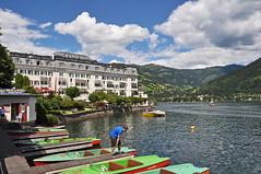 2014 Oostenrijk 0953 Zell am See (porochelt) Tags: austria oostenrijk sterreich zellamsee autriche grandhotel zellersee