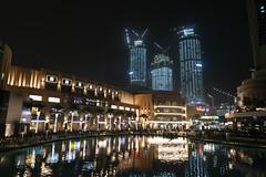 The Dubai Fountain (MadGrin) Tags: geotagged dubai uae unitedarabemirates are downtowndubai thedubaifountain burjkhalifa geo:lat=2519606300 geo:lon=5527729400