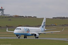 Flybe Embraer E175 G-FBJJ at Isle of Man EGNS 22/03/16 (IOM Aviation Photography) Tags: man isle embraer flybe e175 egns 220316 gfbjj