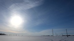 Luminary (andrey.senov) Tags: sky sun snow field clouds timelapse spring russia province  15faves     kostroma