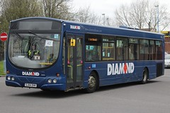 Diamond Volvo B7RLE/Wright Eclipse Urban 30883 (SJ04 DVK) (Tividale) (john-s-91) Tags: diamond westbromwich 30883 volvob7rle wrighteclipseurban a4uob sj04dvk sandwellroute42