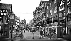Street... (MickyFlick) Tags: england cheshire chester shops stores halftimbered bridgestreet tudorstyle