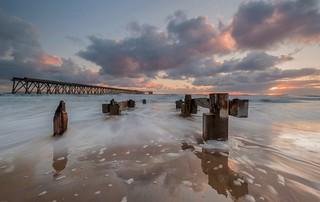Hartlepool Headland Steetley Pier