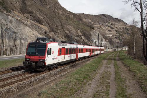 SBB-RegionAlps RBDe 560 009 bei Sion