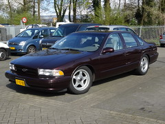 1995 Chevrolet Impala SS (harry_nl) Tags: chevrolet netherlands ss nederland impala amersfoort 2016 ltvz09 sidecode5