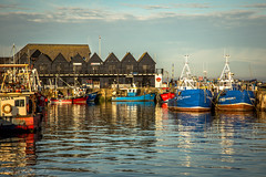 The harbour (Georgio's Photography) Tags: colour landscape boats coast boat kent harbour bubble whitstable