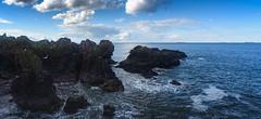 Ocean rocks (GDDigitalArt) Tags: ocean sea sun beach coast scotland daylight seaside bright shore dunbar sigma28mmf28