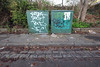 Too green Box (weirdoldhattie) Tags: urban streetart green art bristol graffiti box pavement tag tags tagging montpelier greenbox bs6