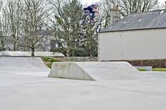 Baptiste Rault (Steiben) Tags: park street 6 3 france bus french 50mm soleil nikon bmx noir air skatepark normandie rider bayeux beton toboggan sunn normand backflip nosedive turndown kosovar tbog d7000