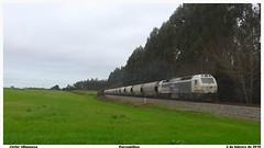 Subiendo con cereal (javivillanuevarico) Tags: trenes renfe 333337 renfemercancas porzomillos