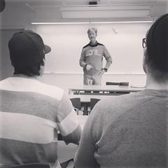 Denna soliga vårdag är Andreas Carlgren på THS och berättar om sin tro.