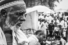 Allover Busy (Tarang Jagannath) Tags: old portrait blackandwhite bw face beard busy cap age oldpeople