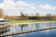 (Peter de Krom) Tags: park lake water sport pier rotterdam meer marathon tired runners rennen hardlopen kralingen steiger sporten verveeld kralingseplas vervelen