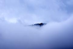 Ridgeline (Mister Day) Tags: mist fog clouds alberta sureal