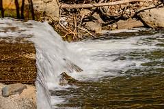 Little Falls On Highland Creek (vernonbone) Tags: park lens outside nikon sigma morningside highlandcreek d3200 april2016