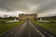 Longleat House (James-306) Tags: park sky house fountain clouds canon drive long exposure lawn safari 5d longleat symetrical 10stop