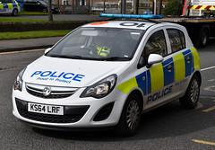 KS64LRF (Cobalt271) Tags: proud police northumbria vehicle to 13 protect vauxhall corsa livery npt cdti ks64lrf
