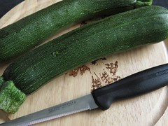0348 Zucchini - courgette (Andy in relax mode) Tags: black knife ccc zucchini kkk zzz sss courgette ggg bbb grreen summersquash 20160428
