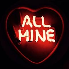 All Mine (Karen Carmen) Tags: red london love neon heart unitedkingdom soho valentine neonsign allmine valentineheart godsownjunkyard lightsofsoho