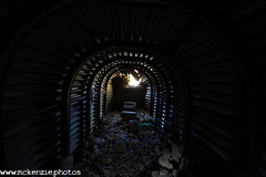 rebuilding the entrance steps ! (The Urban Adventure) Tags: dark underground kent nikon war buried military wwii tunnel ww2 dover lowepro torgoen hougham deepshelter d7200