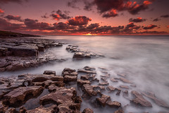 Low Newton (Calum Gladstone) Tags: sea sky seascape sunrise rocks low northumberland jigsaw newton leefilters canon6d