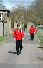 On Patrol! (RiverCrouchWalker) Tags: history soldiers essex walthamabbey royalgunpowdermills onpatrol countyofessex
