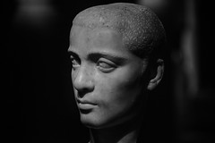 Kunsthistorisches Bust (nydavid1234) Tags: vienna shadow portrait blackandwhite bw sculpture monochrome face statue museum dark nikon bust kunsthistorisches d600