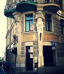 Art Nouveau Architecture, Riga (bobbex) Tags: latvia latvija artnouveau jugendstil baltic balticstate easterneurope