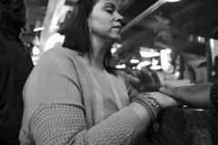 Reading Terminal Market, 2016 (Alan Barr) Tags: street people blackandwhite bw philadelphia monochrome mono blackwhite hands fuji market candid streetphotography sp fujifilm streetphoto x70 readingterminalmarket 2016 readingmarket