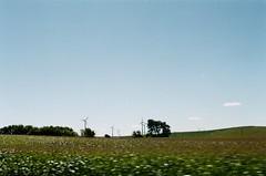 (nothing is ever the same) Tags: slr film 35mm nikon fuji iowa farmland vintagecamera nikkor windfarm 50mmf14 nikkormat ruralamerica americanlandscape