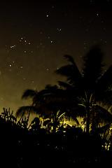 Fire Below (dans eye) Tags: beach stars star flickr florida midnight fl starrynights junobeachpier starstudies