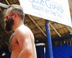 IMG_0821 (danimaniacs) Tags: shirtless man sexy guy beard mexico hunk puertovallarta stud scruff bodyhair mansolo